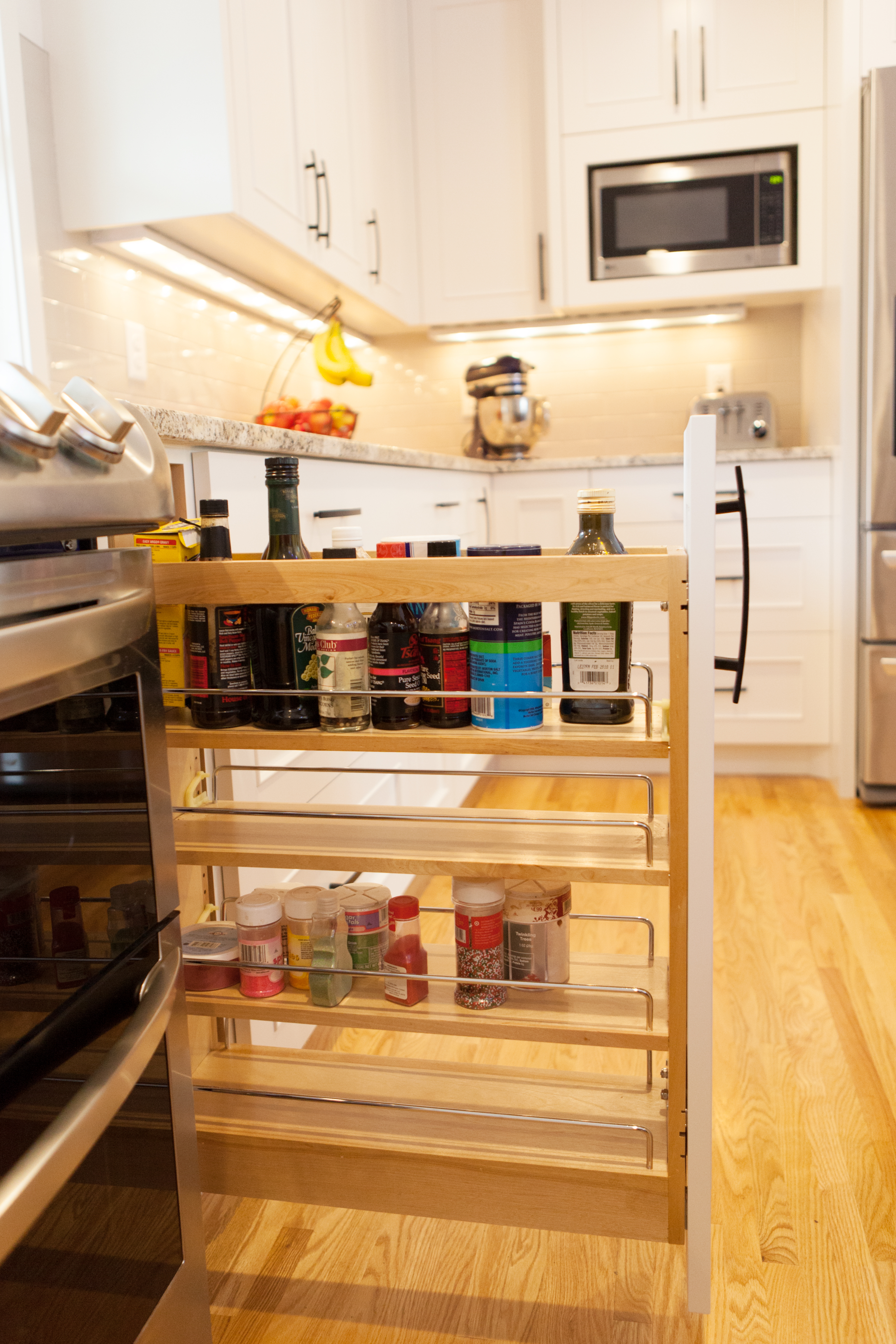 Beau To Keep Spices Organized, There Are A Couple Options That Work Well. We  Might Put A Narrow Pull Out Spice Door Added Right Next To The Stove Or  Near A Main ...