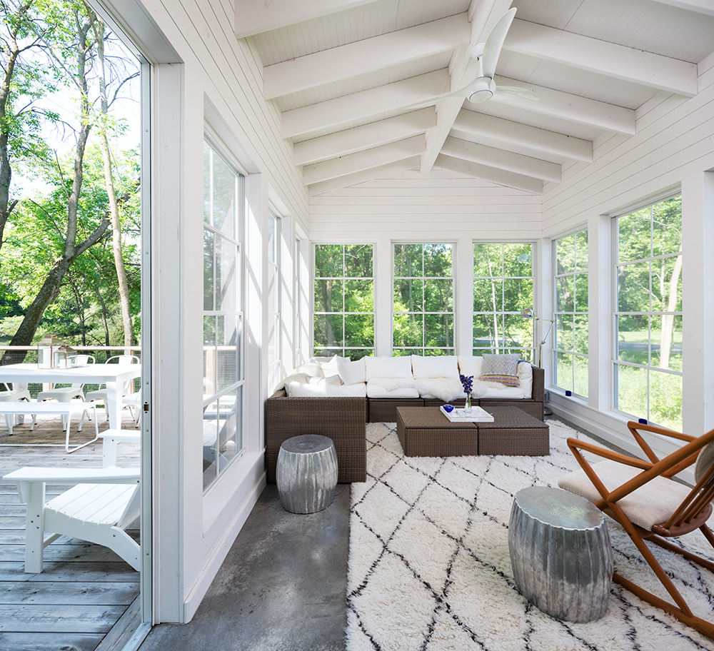 AMEK Mendota Heights Porch Sophisticated Simplicity